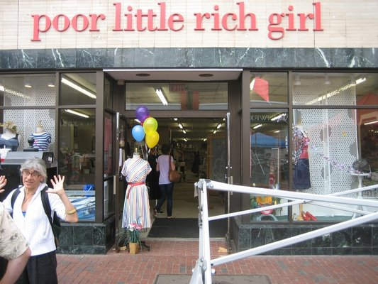 poor little rich girl davis square somerville mass
